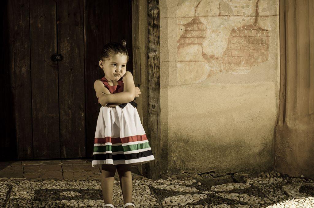 Sesión de fotos infantil