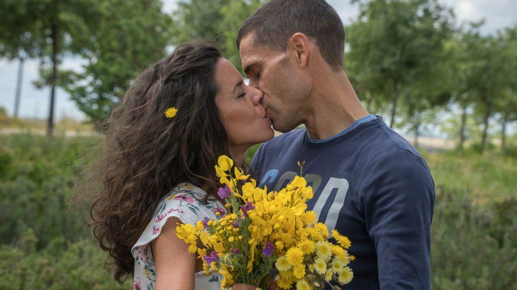 Preboda en Madrid. Lidia y Carlos.