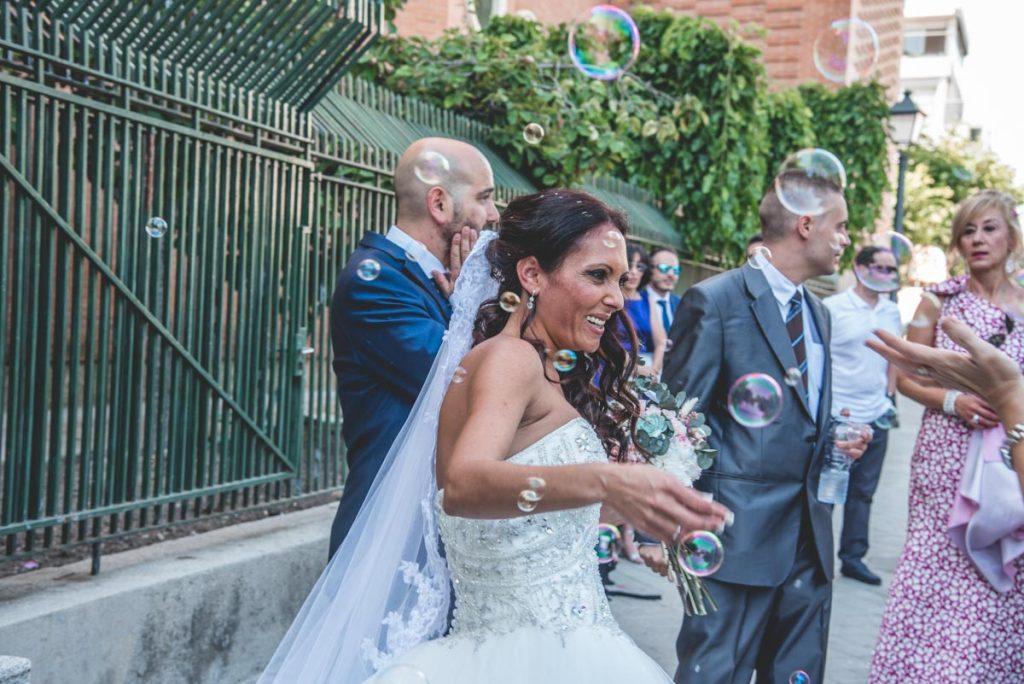 Reportaje de boda en Madrid