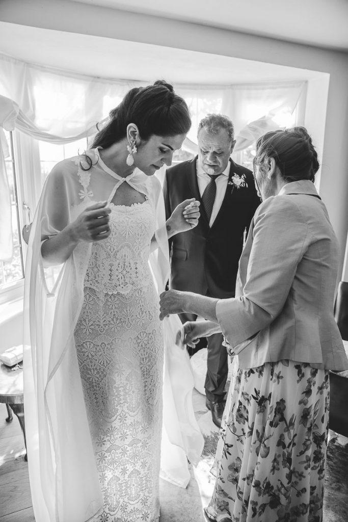 boda en uk padres