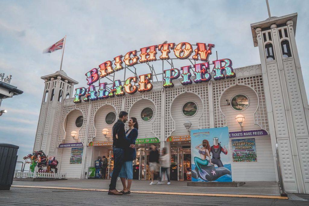 Preboda en Brighton. Palace Pier