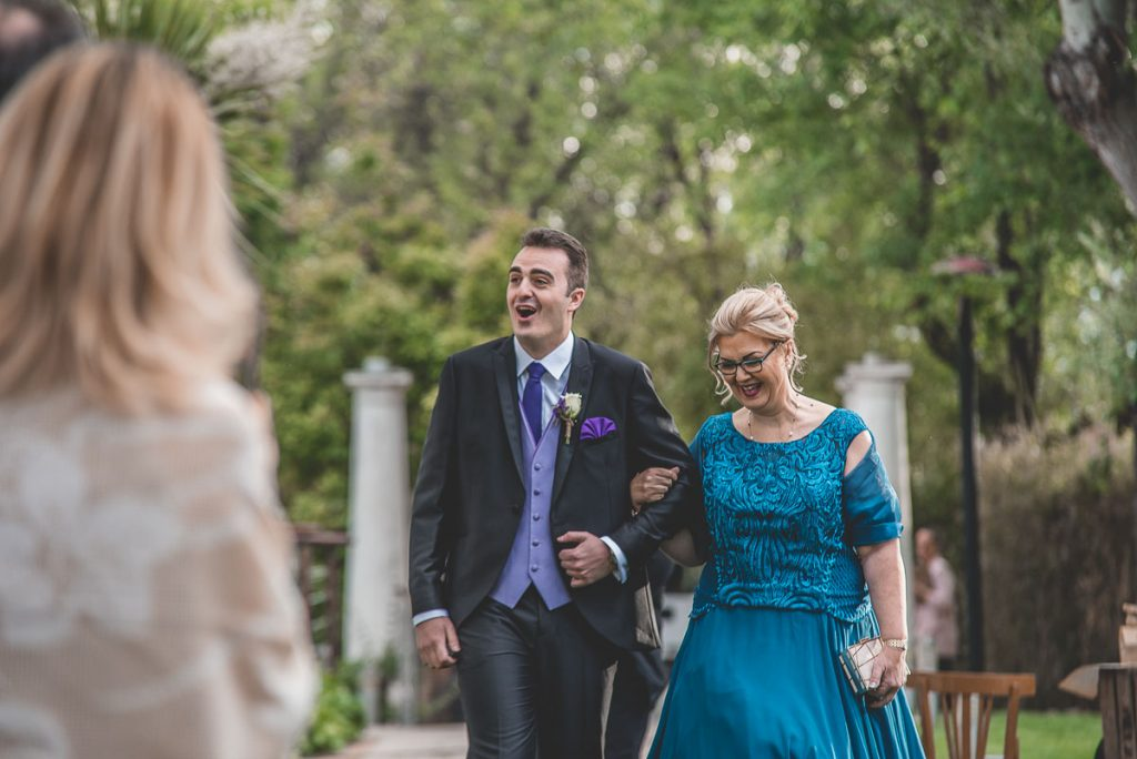 fotos de boda entrada novio