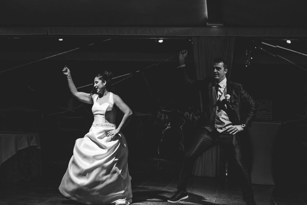 fotos de boda novios bailando