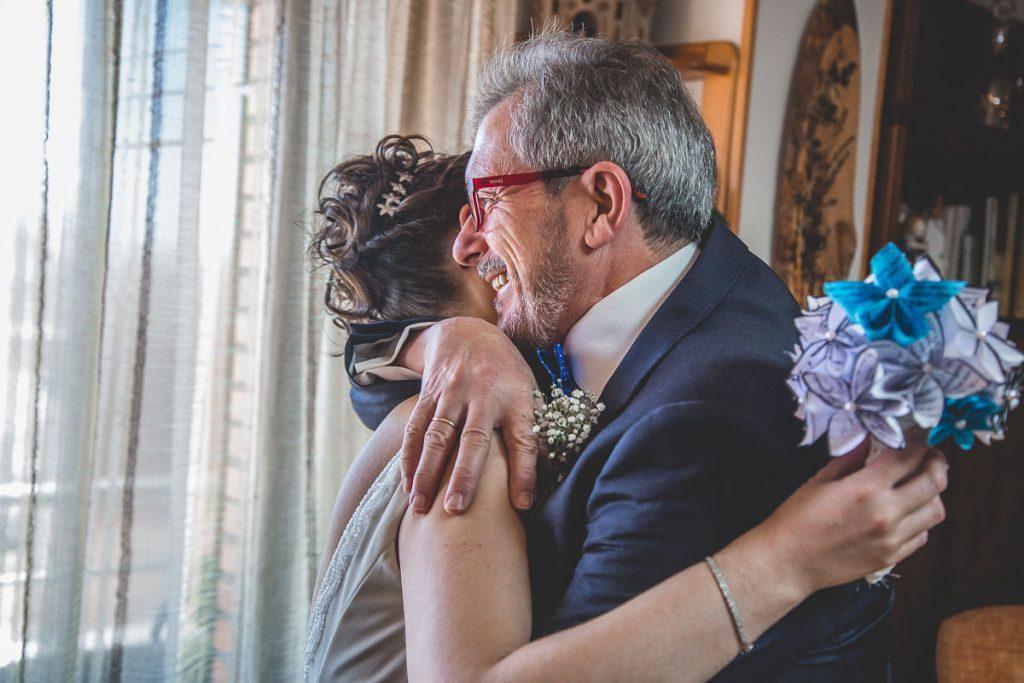 novia y padre