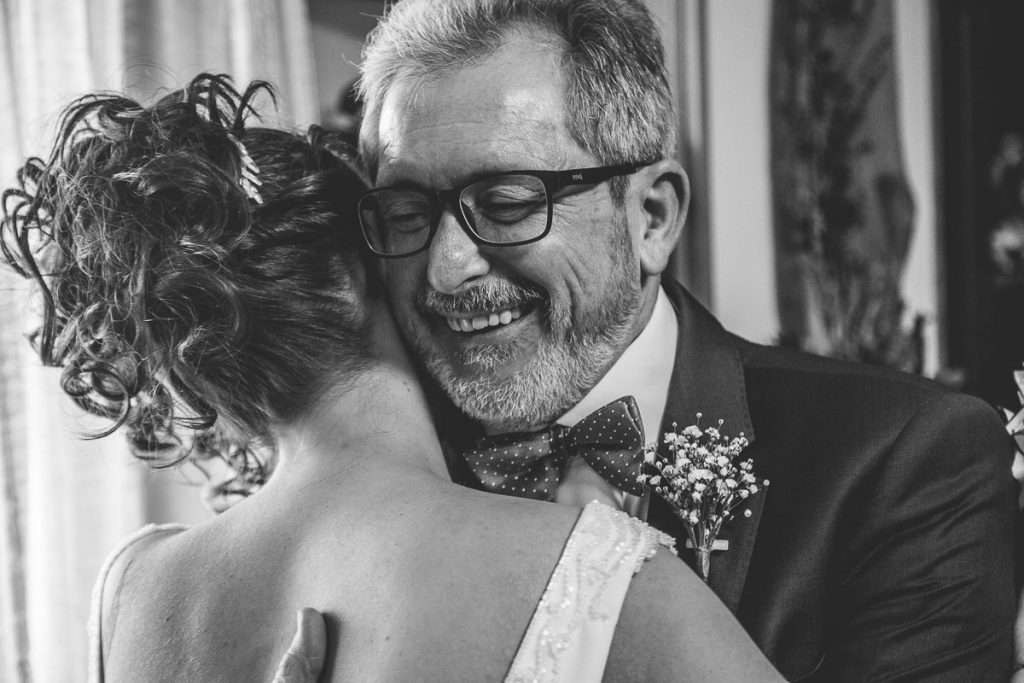 papa y novia