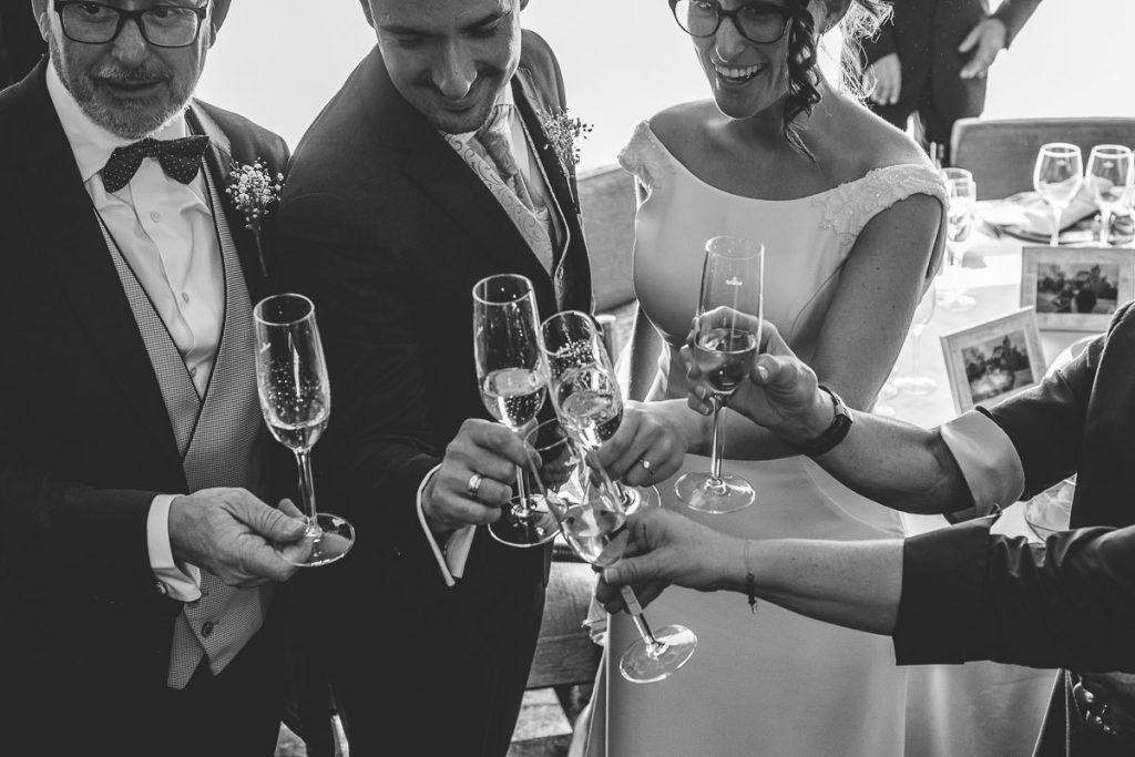 fotos novios boda parador segovia