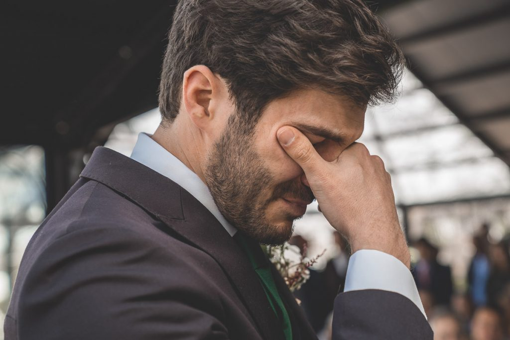 emocion en boda