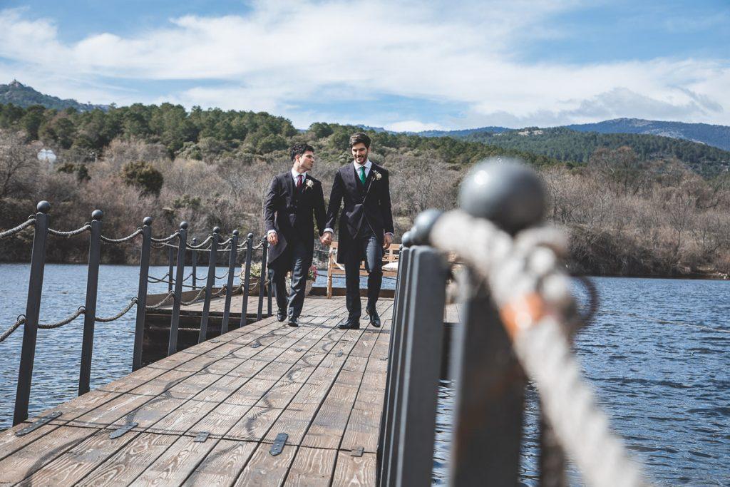 Embarcadero Prados Moros boda en Guadarrama